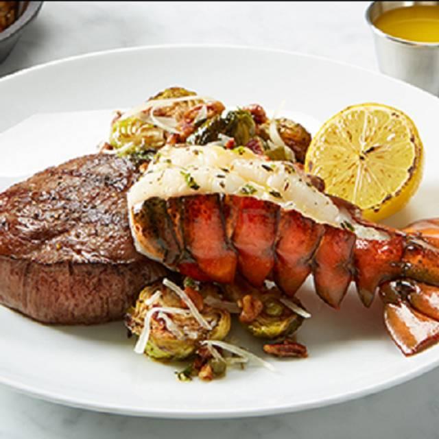 Steak And Lobster Tail - BRIO Tuscan Grille - Atlanta - Buckhead, Atlanta, GA