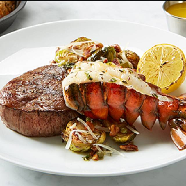 Steak And Lobster Tail - BRIO Tuscan Grille - Irvine - Spectrum Center, Irvine, CA