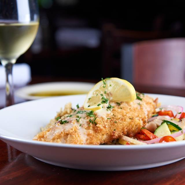 Parmesan crusted snapper - Paesanos - River Walk, San Antonio, TX