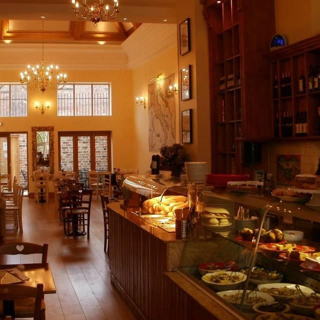 The Italian Club Restaurant, Liverpool, Merseyside