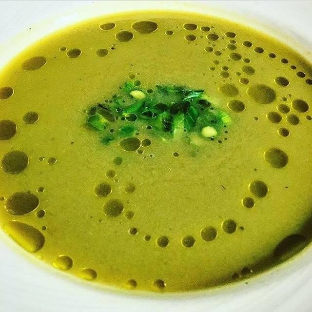 Asparagus Soup - Gertrude's - Baltimore, Baltimore, MD