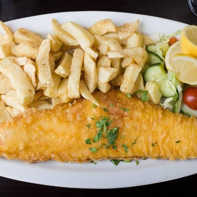 George's Fish and Souvlaki Bar, London