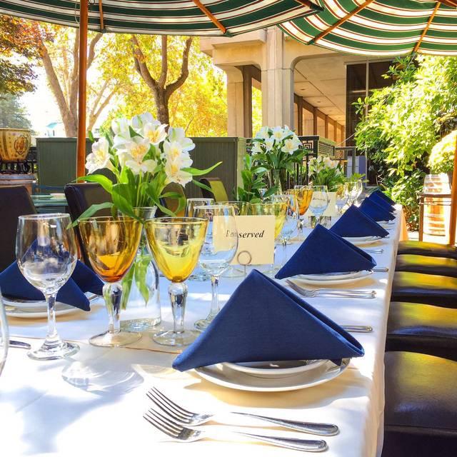 Piazza Riace Table - Caffe Riace, Palo Alto, CA