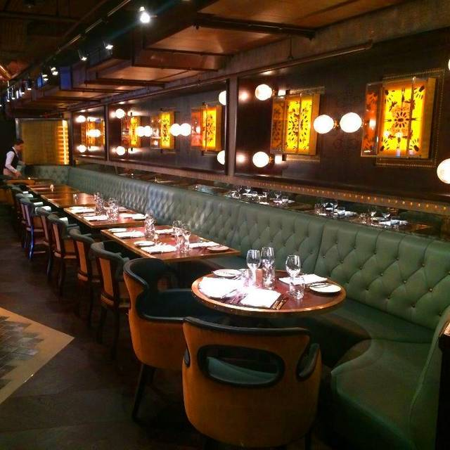 Banquette - The Botanist Broadgate Circle, London