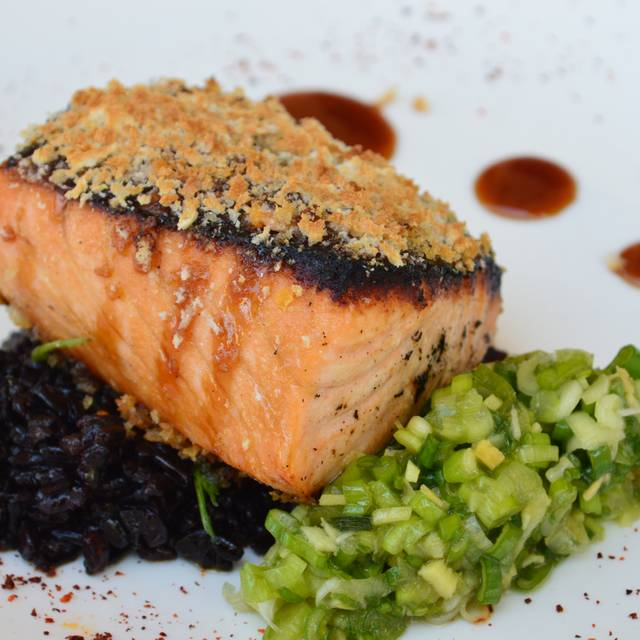 Barbeque Salmon - Cafe Lurcat - Naples, Naples, FL