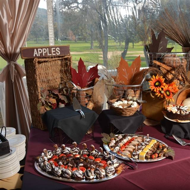 Silverado Resort and Spa - Holiday Buffet in the Grand Ballroom, Napa, CA