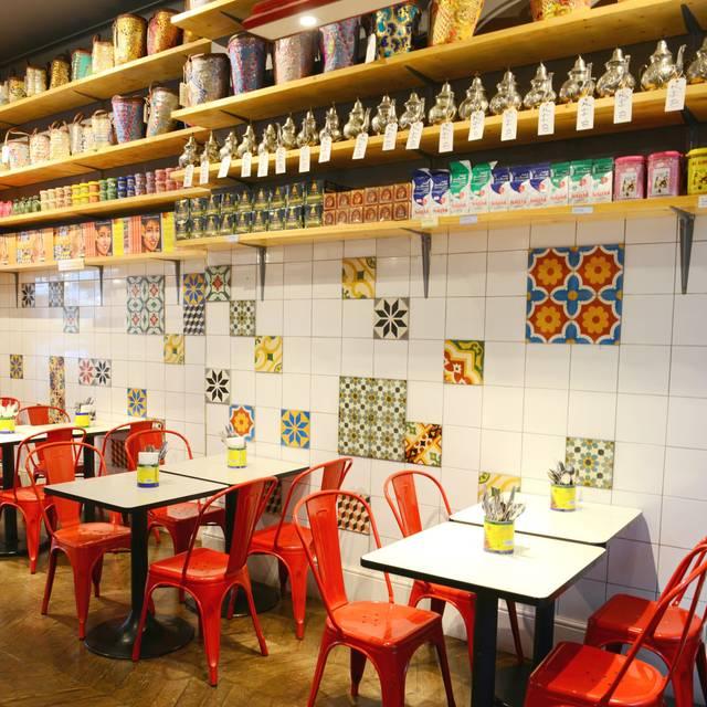 Comptoir libanais wigmore street london opentable - Comptoir restaurant london ...