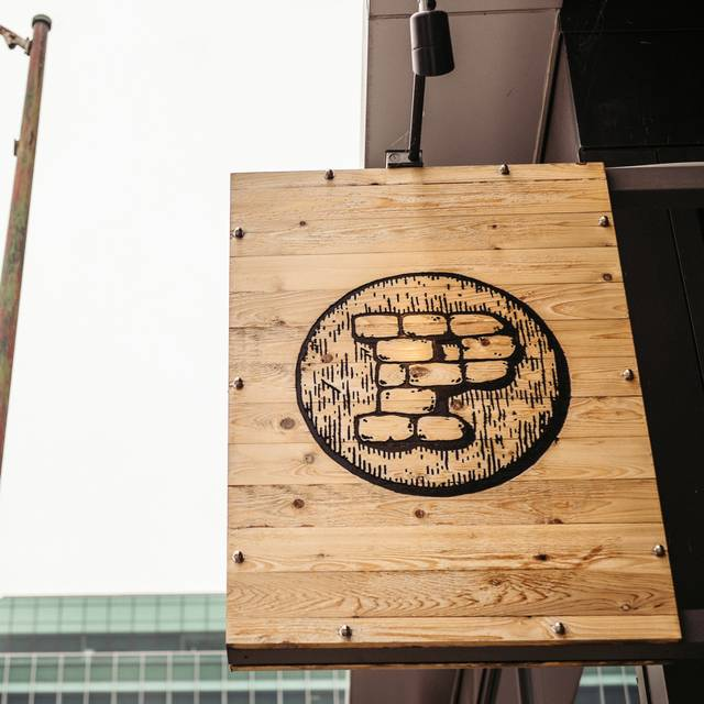 Outside Restaurant Sign - The Promontory, Chicago, IL