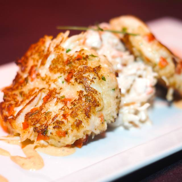 Crab Cake  - Adam's Restaurant and Piano Bar, Buford, GA