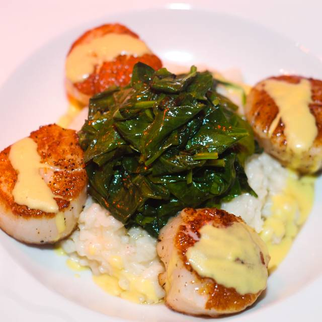 Scallops  - Adam's Restaurant and Piano Bar, Buford, GA