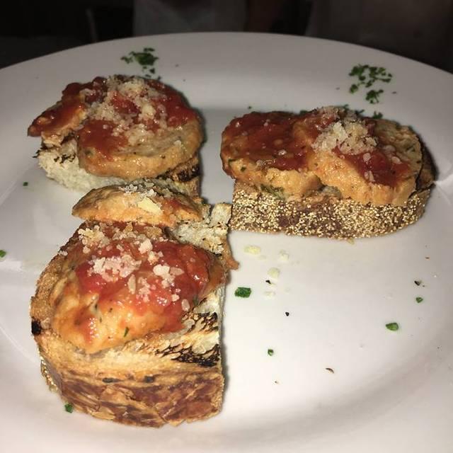 Meatball Slider App - Darcy's Ristorante (FKA Gianfranco by Darcy Ristorante), Scottsdale, AZ