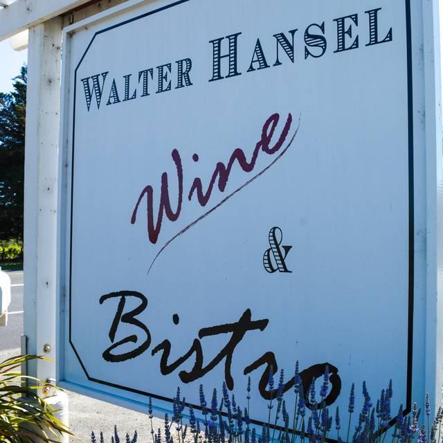 Walter Hansel Wine Bistro, Santa Rosa, CA