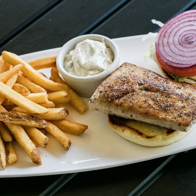 Grilled Fish Sandwich - Shula's 2 Steak and Sports @ The Doubletree by Hilton (Independence), Independence, OH