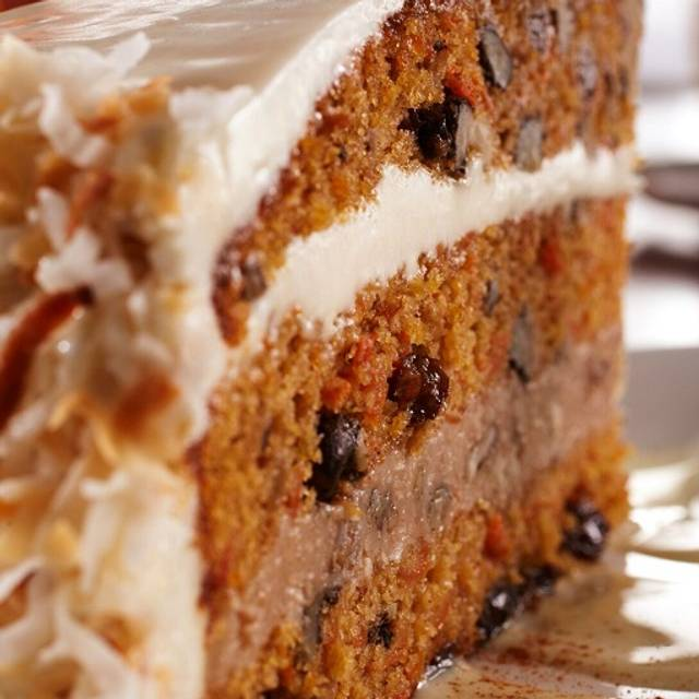 Carrot Cake - Shula's 2 Steak and Sports @ The Doubletree by Hilton (Independence), Independence, OH