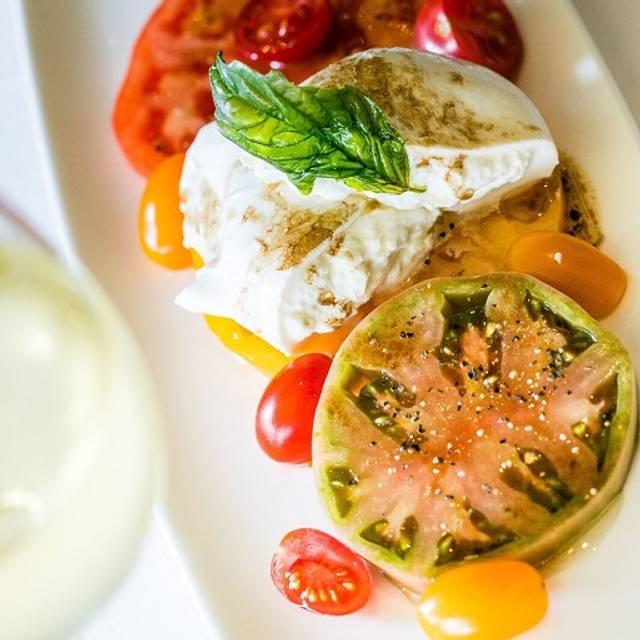 Tomato Mozzarella Salad - Shula's 347 Grill - Hotel Duval Tallahassee, Tallahassee, FL