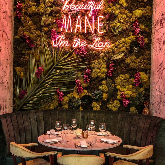 Menagerie Restaurant Manchester Opentable
