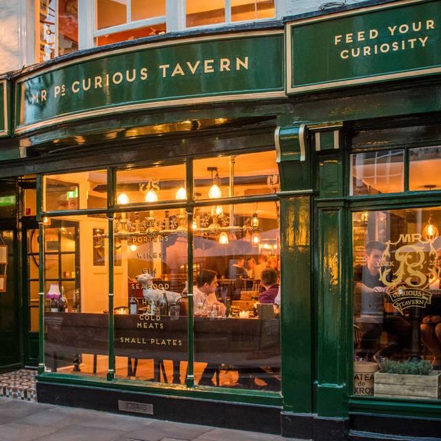 Mr P's Curious Tavern, York, North Yorkshire