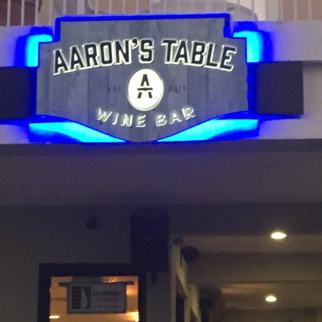Aaron's Table And Wine Bar - Aaron's Table & Wine Bar, Jupiter, FL