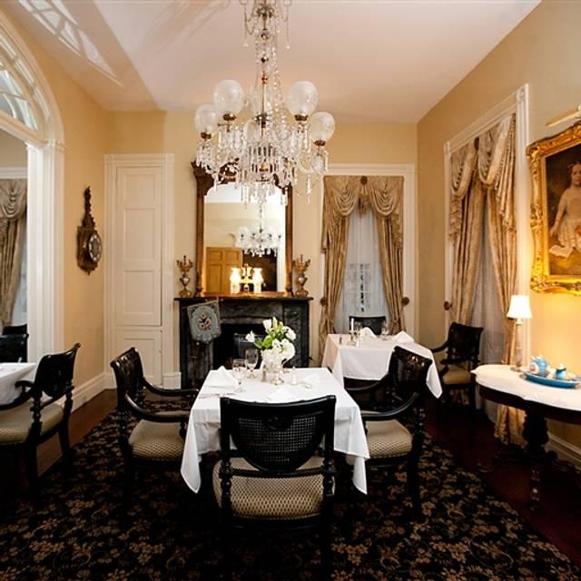Restaurant 1818 At Monmouth Historic Inn Gardens Natchez Ms Opentable