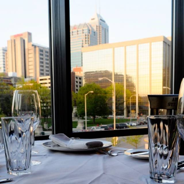 Upper Deck Dining - Shula's Steak House - Indianapolis, Indianapolis, IN