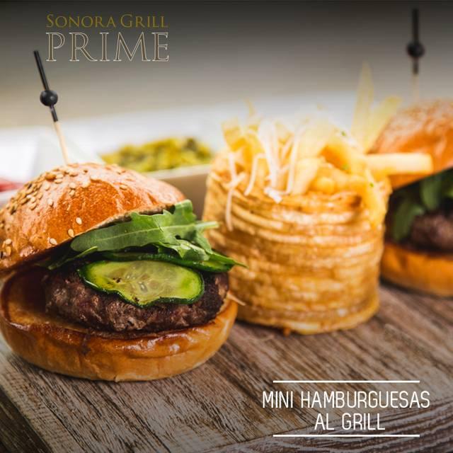 Mini Hamburguesas - Sonora Grill Prime - Puerta de Hierro, Guadalajara, JAL