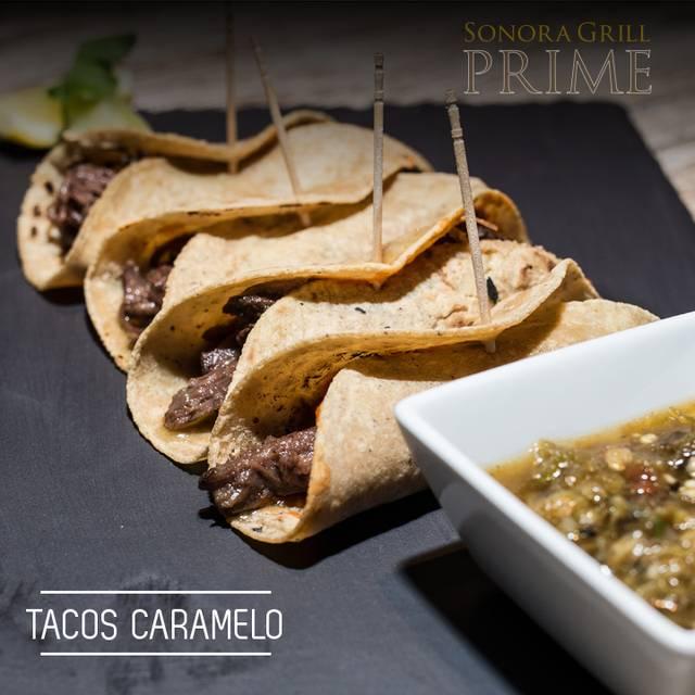 Tacos Caramelo - Sonora Grill Prime - Puerta de Hierro, Guadalajara, JAL