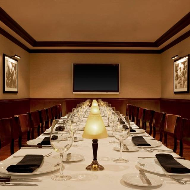 Private Dining Room - Shula's Steak House - Chicago, Chicago, IL