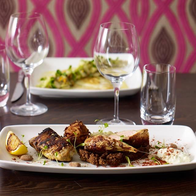 Chicken Tandoori - The Brasserie at Wivenhoe House Hotel, Colchester, Essex