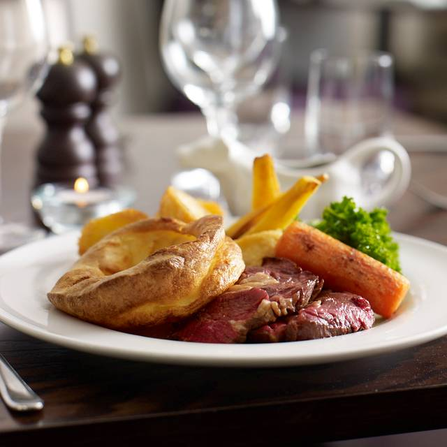 Roast Beef - The Brasserie at Wivenhoe House Hotel, Colchester, Essex