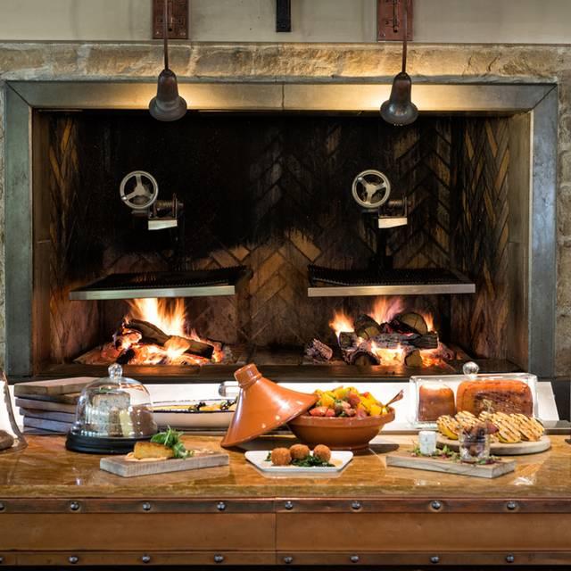 Wood Fired Oven - Prado Restaurant at Omni Scottsdale Resort & Spa at Montelucia, Scottsdale, AZ
