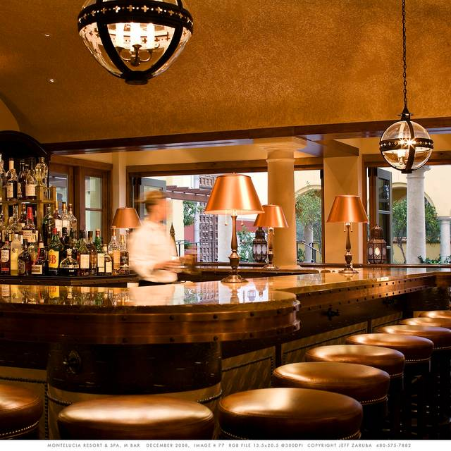 M-Bar - Omni Scottsdale Resort & Spa - Montelucia  - Prado Restaurant at Omni Scottsdale Resort & Spa at Montelucia, Scottsdale, AZ