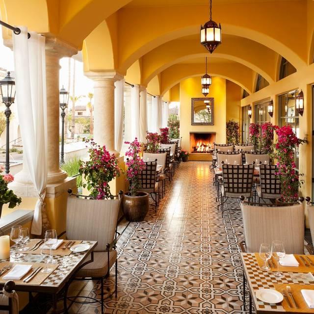 Prado Patio - Prado Restaurant at Omni Scottsdale Resort & Spa at Montelucia, Scottsdale, AZ