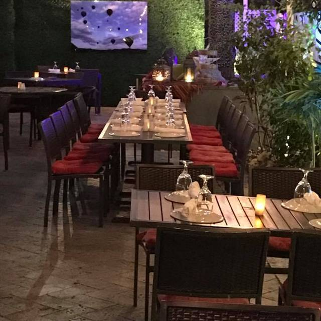Garden Babylon Mediterranean Kitchen Bar Miami Beach Fl