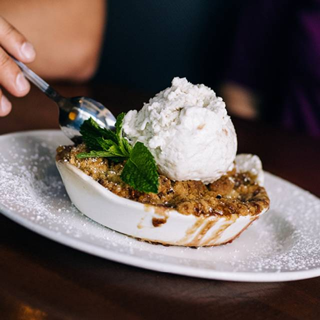 Banana Beery Rum Macadamia Nut Crumble - Yard House - Scottsdale, Scottsdale, AZ