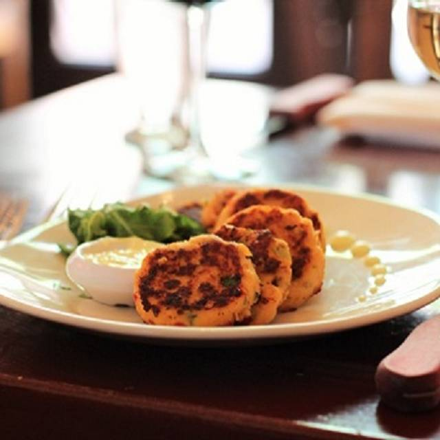 Salmon Cakes  - Century Bar and Grill, Alpine, TX