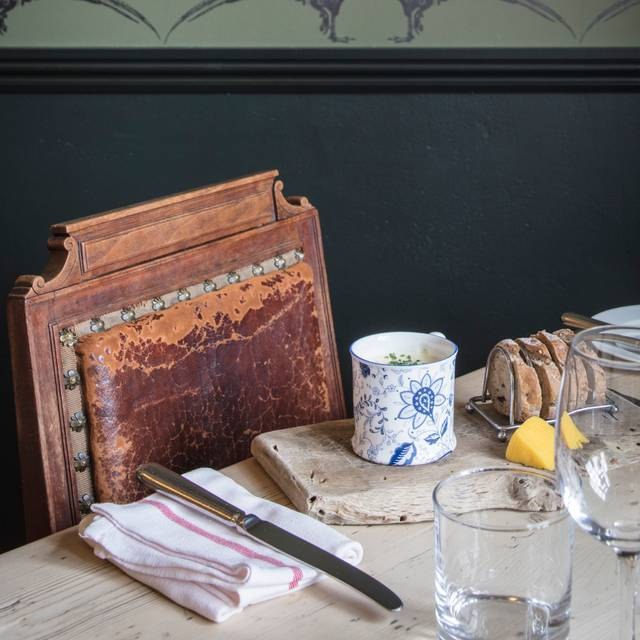 New Dining Room Toast Soup - The Kingham Plough, Chipping Norton, Oxfordshire