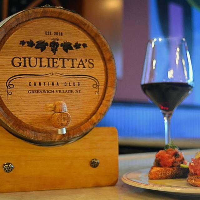 Giulietta's Cantina Club, New York, NY