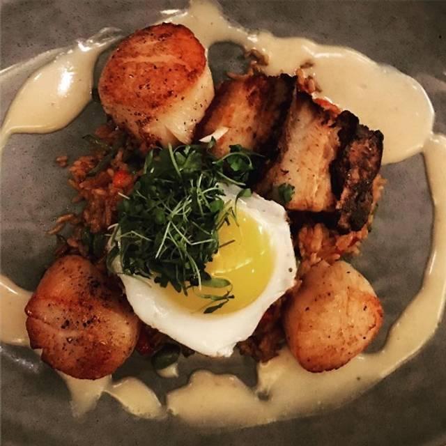 Diver Scallop Dish  - The Tiller Restaurant at Cliff House, Cape Neddick, ME