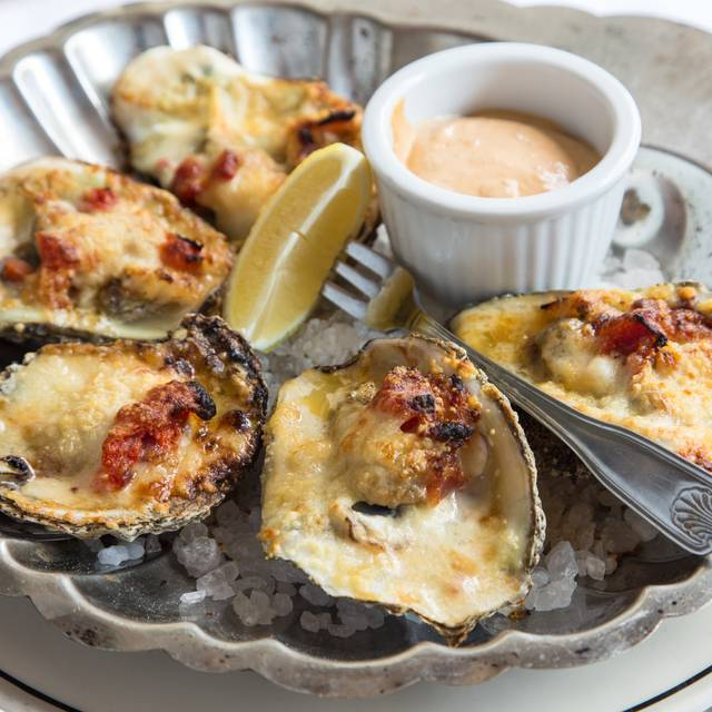 Baked Oysters - The Pelican Club, New Orleans, LA
