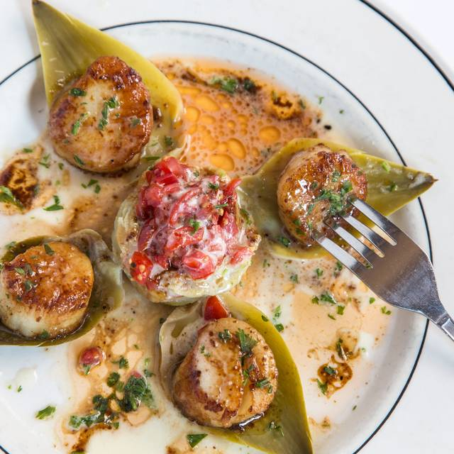 Scallop Stuffed Artichokes - The Pelican Club, New Orleans, LA