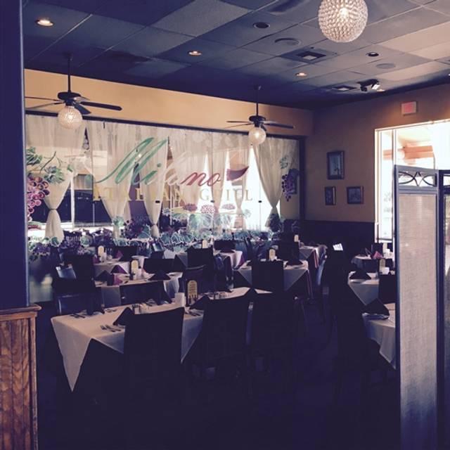 Restaurants Italian Near Me: Milano Italian Grill Restaurant - San Antonio, TX