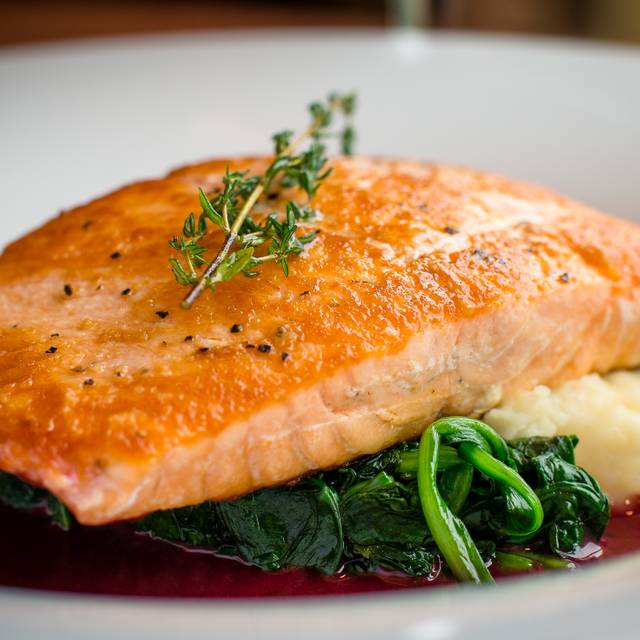 Seared salmon - Innovation, Wauwatosa, WI