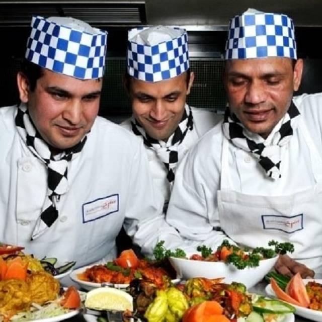 Chefs - Britannia Spice, Edinburgh