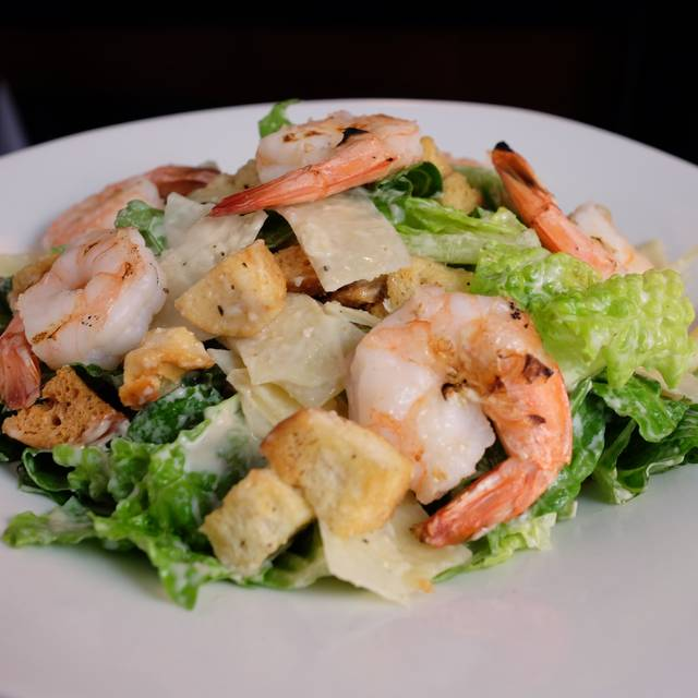 Caesar Salad with Shrimp - New Campo Argentino, Miami Beach, FL
