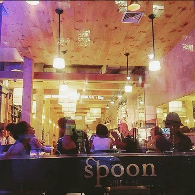 Image result for spoon table and bar