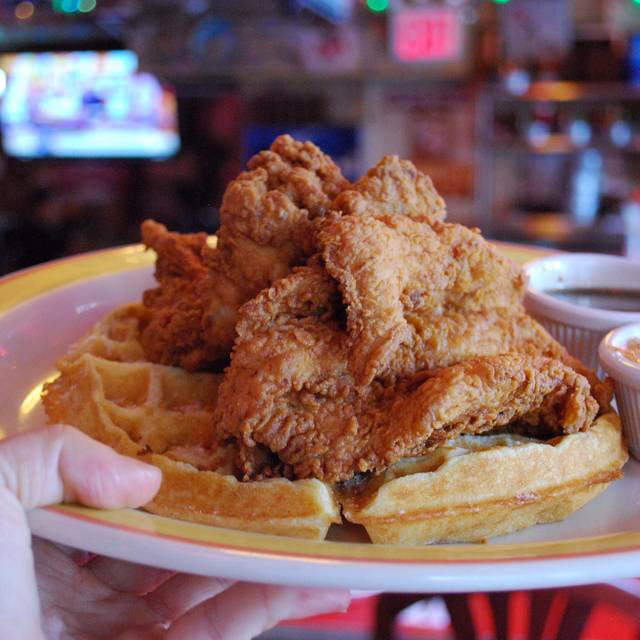 Chicken And Waffles - Duke's - Upper East Side, New York, NY