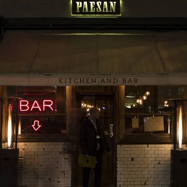 Paesan, London