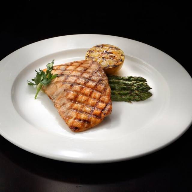Simply Grilled Salmon - Juniper Grill - Peters Twp, McMurray, PA