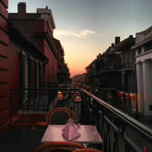 Tableau Balcony Dusk - Tableau, New Orleans, LA