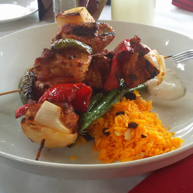 Chicken Kebab - Olive Leaf Bistro, Jeffersonville, IN